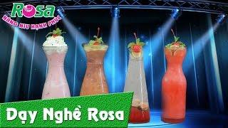 Hướng dẫn pha chế thức uống soda cherry - Refreshing Cherry Drinks