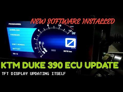 UPDATING KTM DUKE 390 ECU (SOFTWARE UPDATE) - 2018
