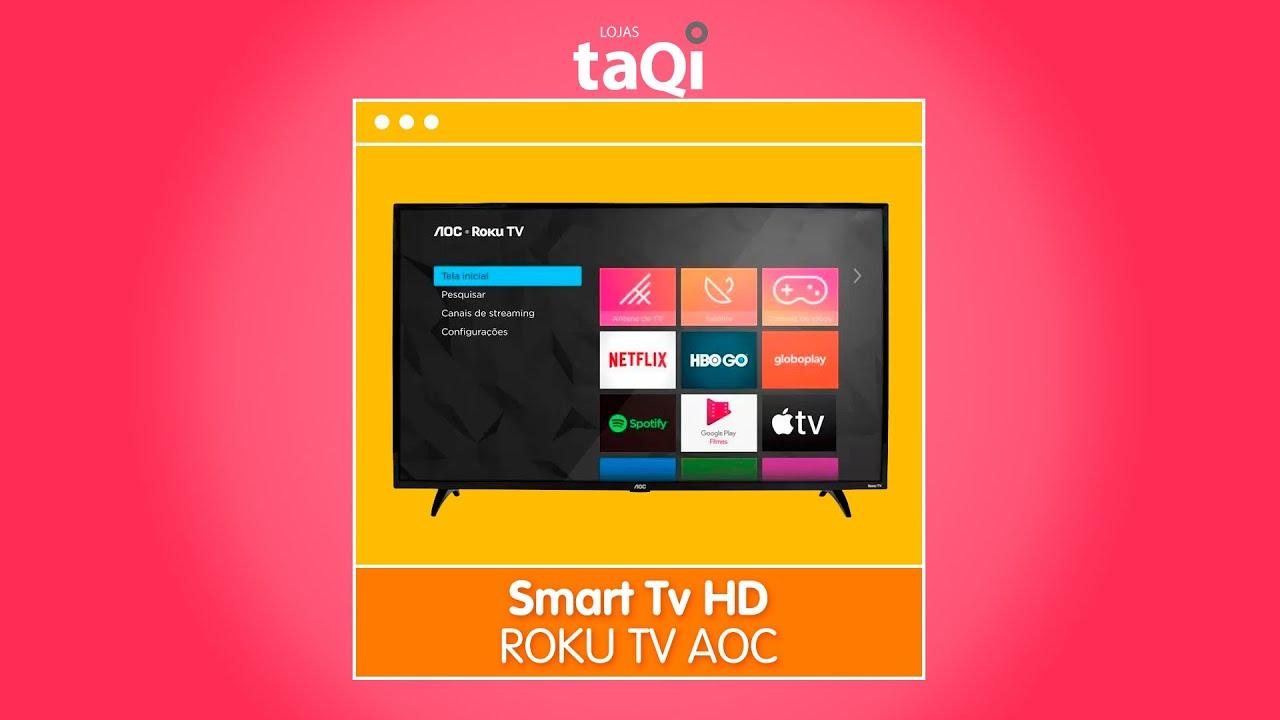 Smart Tv HD  ROKU TV  AOC