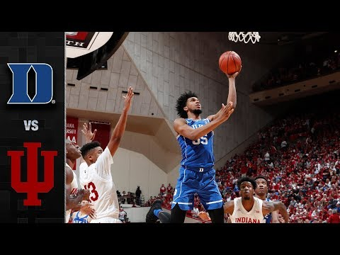 Duke vs. Indiana Basketball Highlights (2017-18)