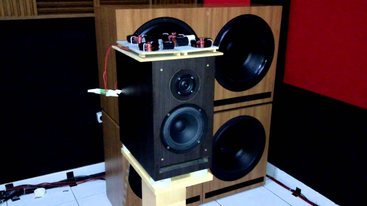 Testing On Sb Acoustics Speakers 2 Way 4th Order Custom