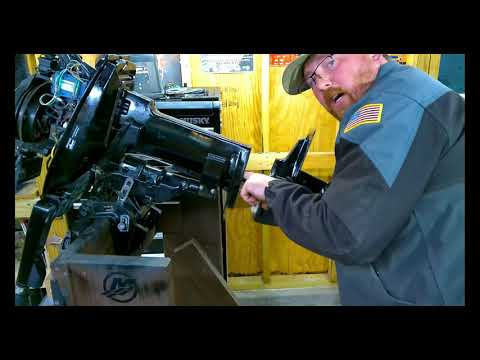 How To Replace A Water Pump on A Mercury 2  Stroke 6.0hp 8.0hp 9.9hp 15hp 1986 – 2006 Outboard Motor