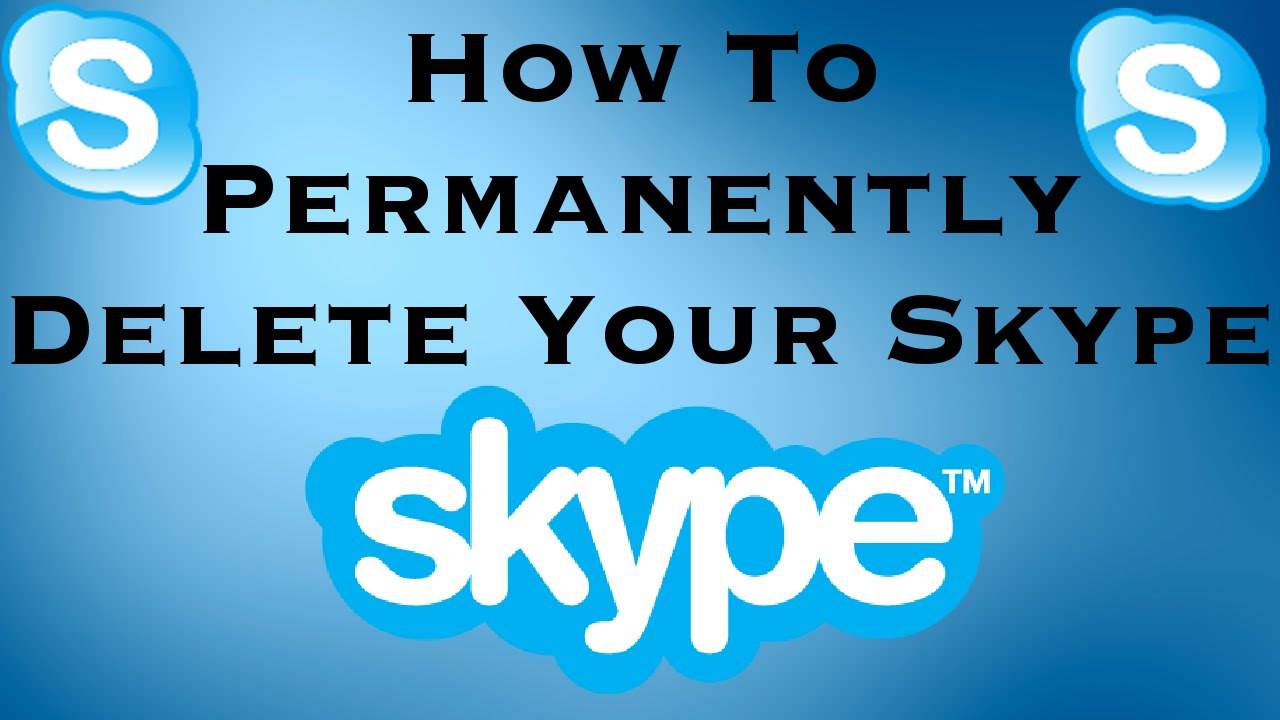 how to delete your skype account