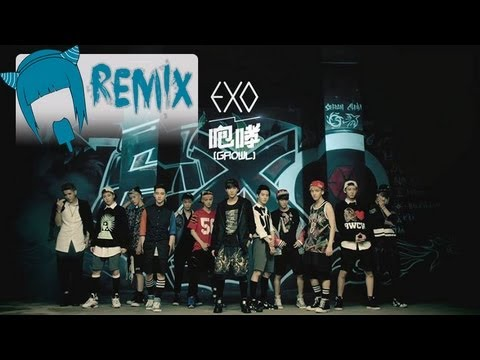 EXO _으르렁_Growl (i5cream Remix)