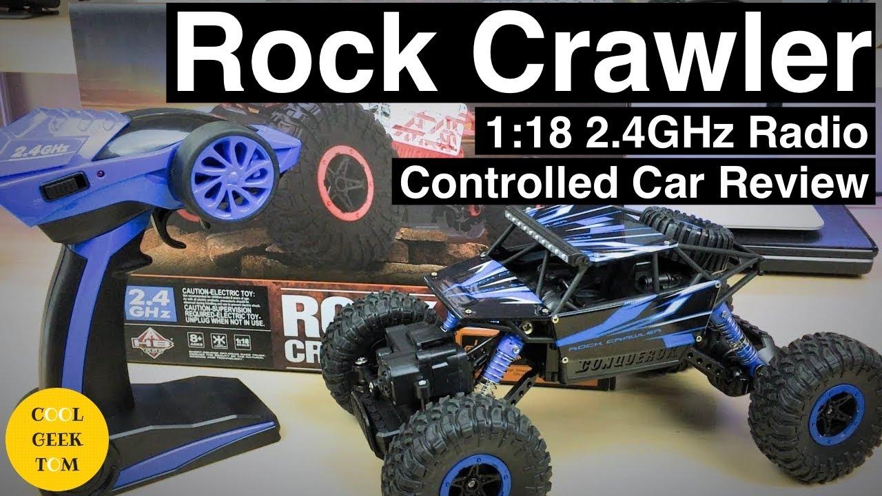 Rock Crawler 1 18 2 4ghz Radio Controlled Car Review