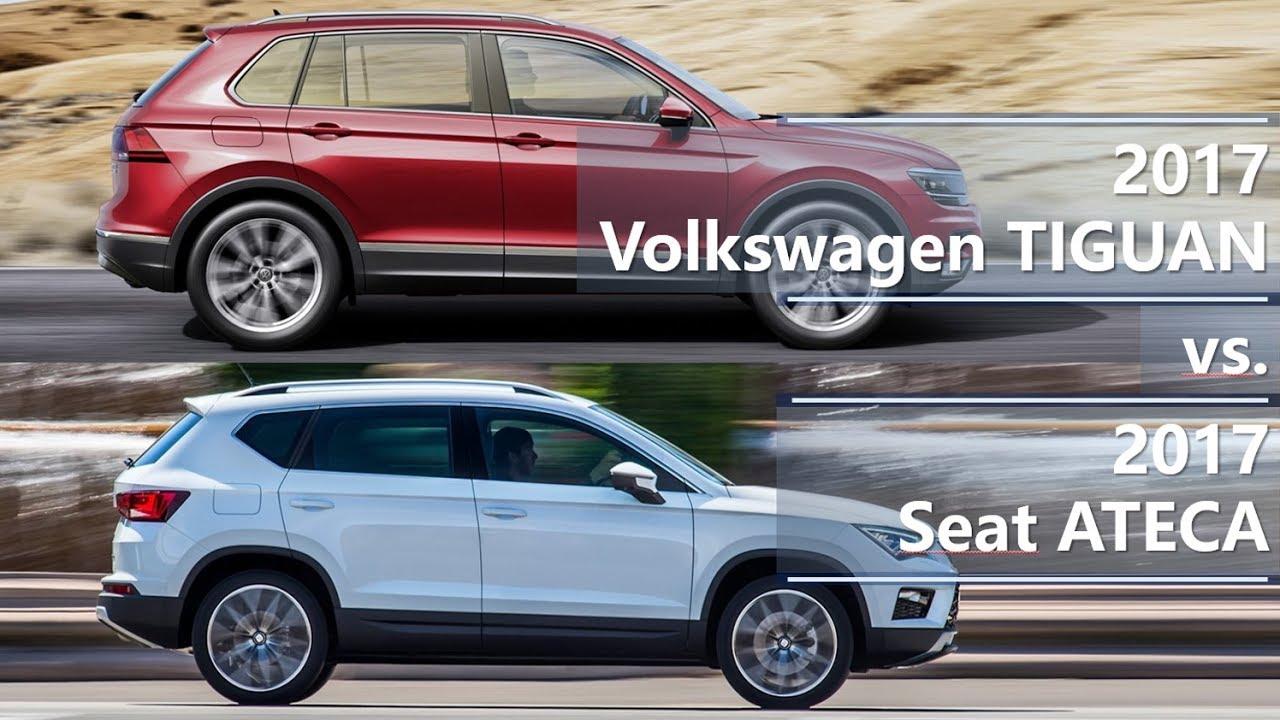 2017 volkswagen tiguan vs 2017 seat ateca technical comparison youtube. Black Bedroom Furniture Sets. Home Design Ideas