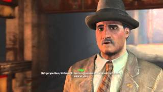 Fallout 4 - Jewel of the Commonwealth Mayor McDonough Intro Charisma Used Dialogue Tree, Piper
