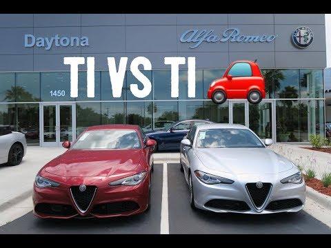 2019 Alfa Romeo Giulia Ti Sport Youtube
