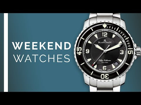 "Blancpain Fifty Fathoms, Rolex GMT-Master II ""SANR""; Luxury Watches For Watch Buyers"