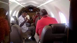 JB to KL on Pilatus PC 12 June 2011