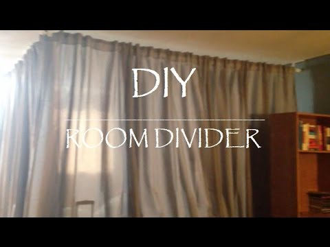 DIY || ROOM DIVIDER FOR UNDER $100 - DIY |ROOM DIVIDER FOR UNDER $100 - YouTube