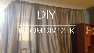 Diy || Room Divider For Under $100