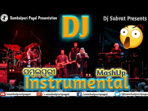Dj Sambalpuri Instrumental MashUp Non Stop Dj Remix Song   Mix By Dj Subrat