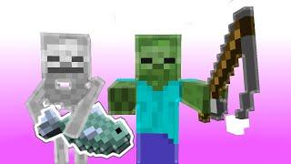 Monster School: Fishing (Minecraft Animation)