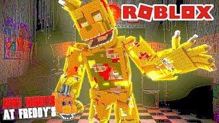 ANIMATRONICS Virei o Springtrap?   Roblox Five Nights at Freddy's