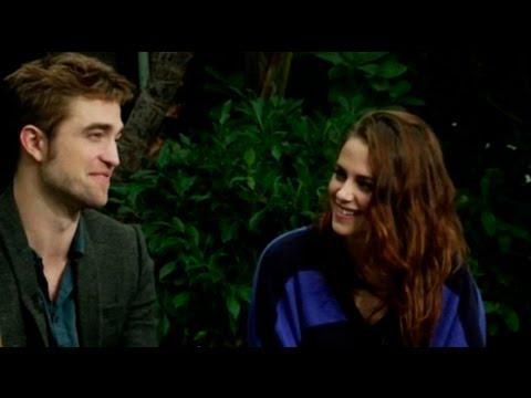 Robsten's First Interview Together Since Cheating Scandal - Robert Pattinson Kristen Stewart
