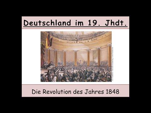 Die deutsche Revolution 1848 (Märzrevolution | Paulskirchenverfassung)