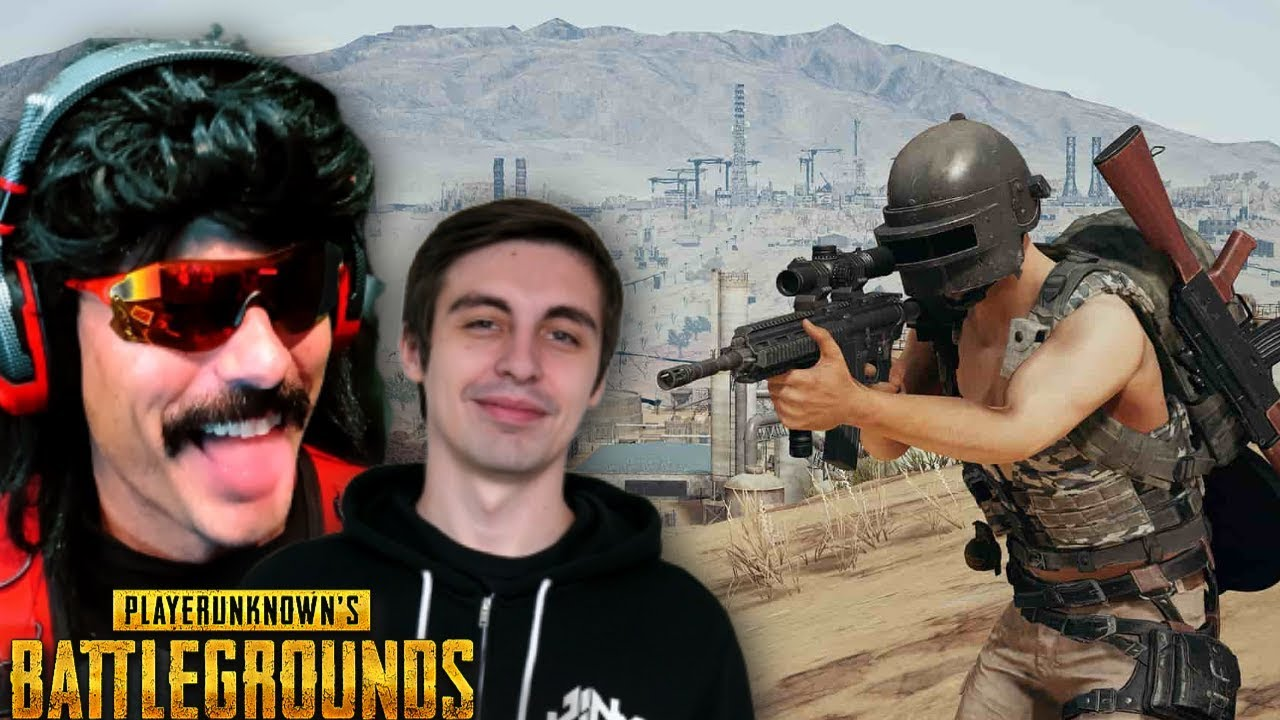 Shroud and DrDisrespect Duo on *NEW* PUBG Season 4 Update!