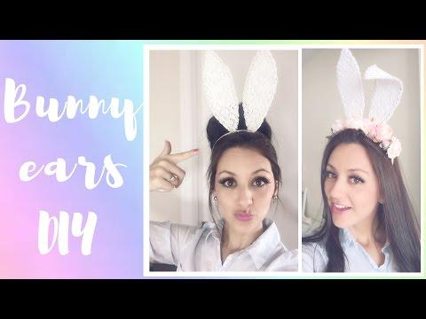 How To Make Bunny Ears - Wearable DIY