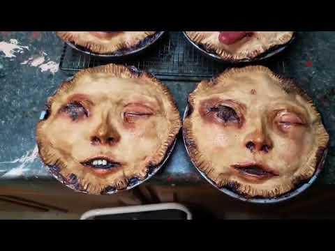 Dragon - Creepy Looking Face Pies