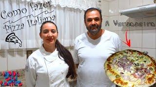 Como fazer Pizza Italiana - Carol na Cozinha - Convidado Alessandro - Moda Sem Limites