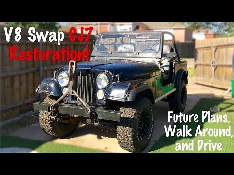 350 Jeep CJ7 Build Part 1: Project Intro