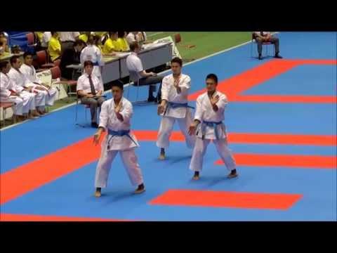 Kata SUPARIMPEI (Okinawa Team)