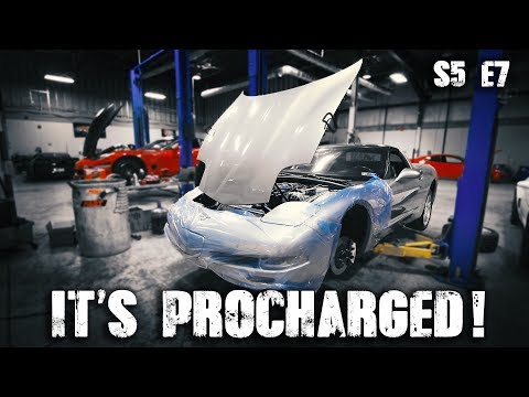 The StreetSpeed717 C5 Giveaway Car is Procharged! | RPM S5 E7