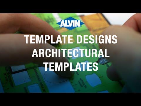 Alvin® Architectural Templates