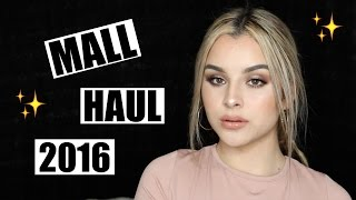 Mall Haul 2016 | Aidette Cancino