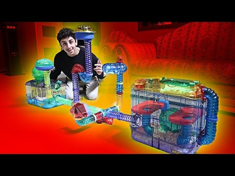 BUILDING MY HAMSTER HIS DREAM CAGE!! (INSANE) | FaZe Rug