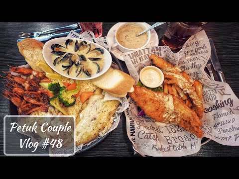 Is It Really The BEST Fish & Chips? || The Manhattan Fish Market || VLOG #48