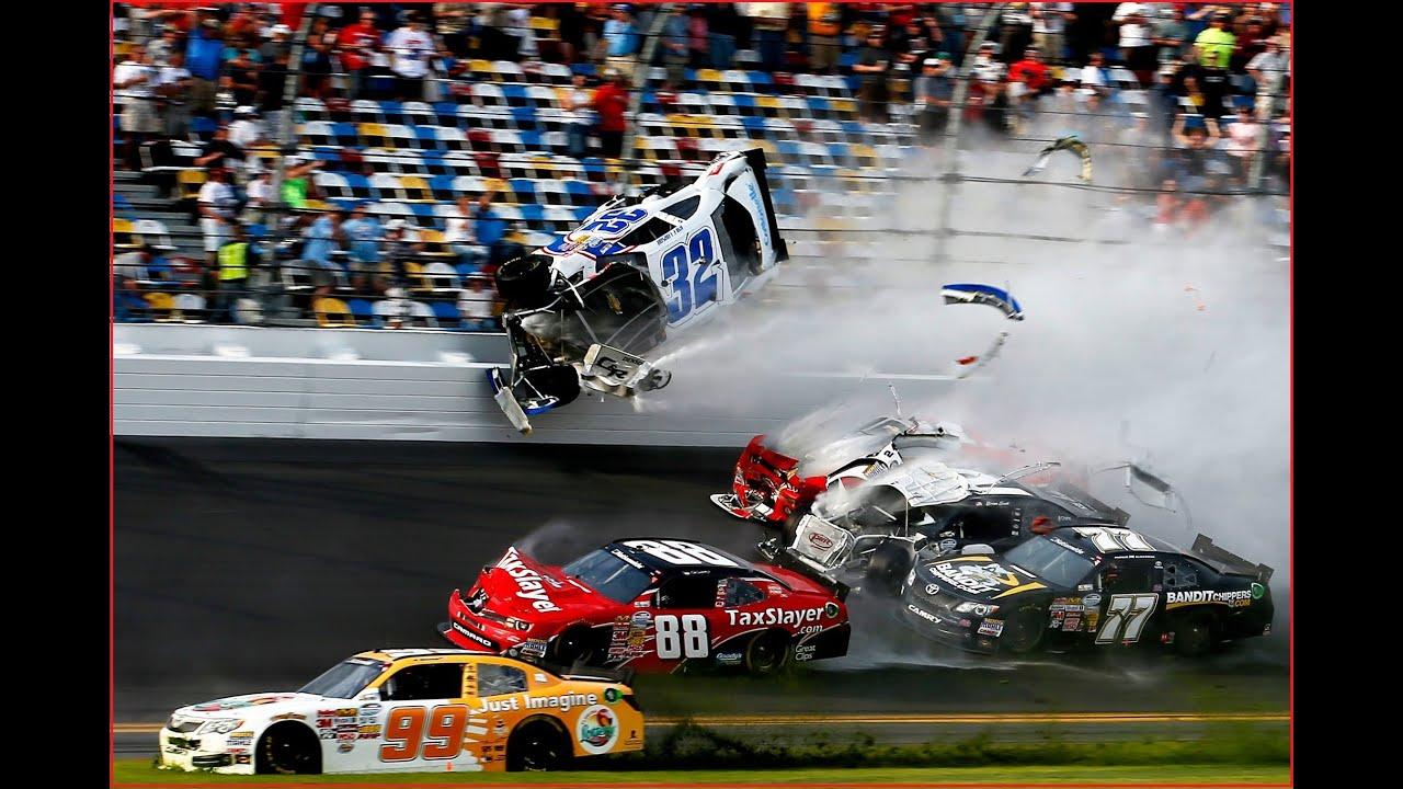 NASCAR Crashes 2016 compilation | BEST NASCAR RACING CRASH 2016 ...