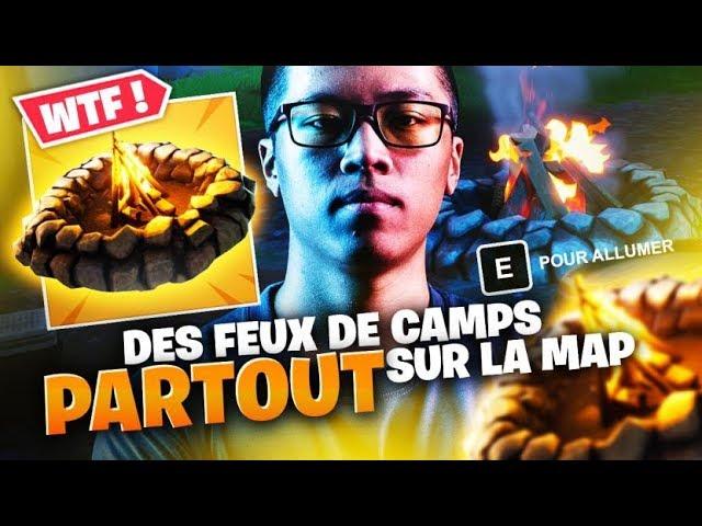 WTF ? DES FEUX DE CAMPS PARTOUT SUR LA MAP