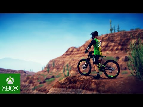 Descenders Xbox Game Preview Reveal Trailer