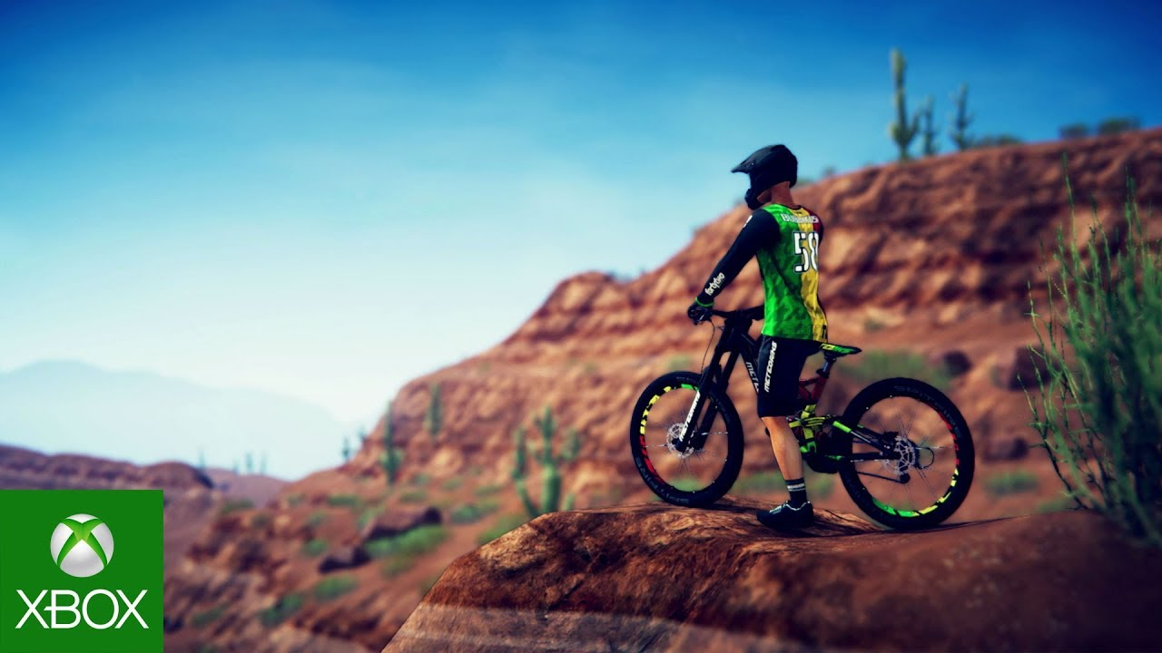 descenders xbox game preview reveal trailer youtube