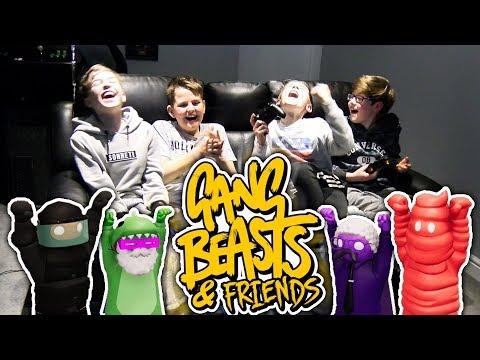 GANG BEASTS & FRIENDS!! #2
