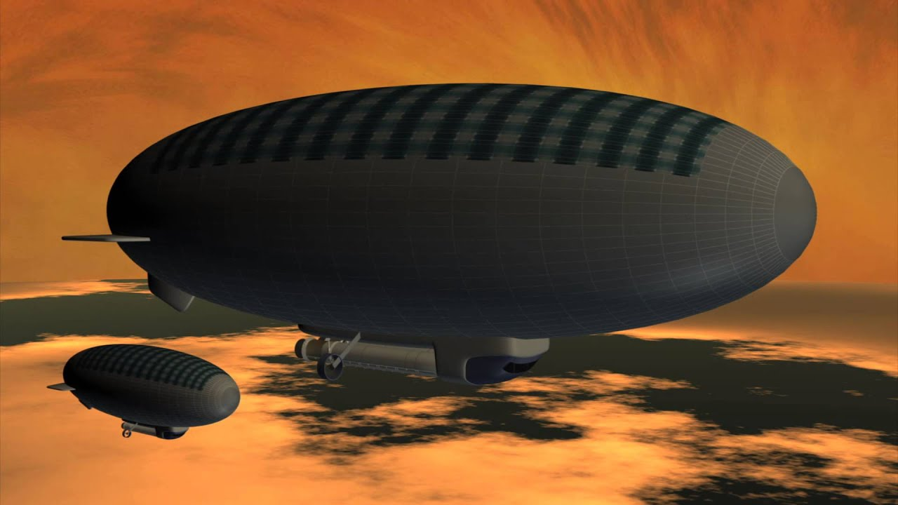 Nasa Envisions A Floating City Above Venus U2019 Clouds