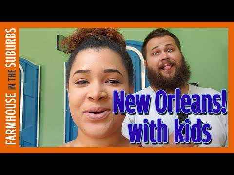 French Quarter With 3 Kids Under 7!  |  Our New Orleans Vacation