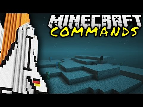 SPACE COMMAND! | Minecraft Commands #22 | ConCrafter