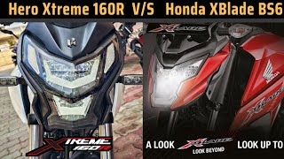 Hero Xtreme 160R vs Honda X Blade BS6 Detailed Comparison | X Blade vs Xtreme 160R | K2K Motovlogs