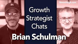 Brian Schulman - Thrive on Linkedin  - Growth Strategist Chats