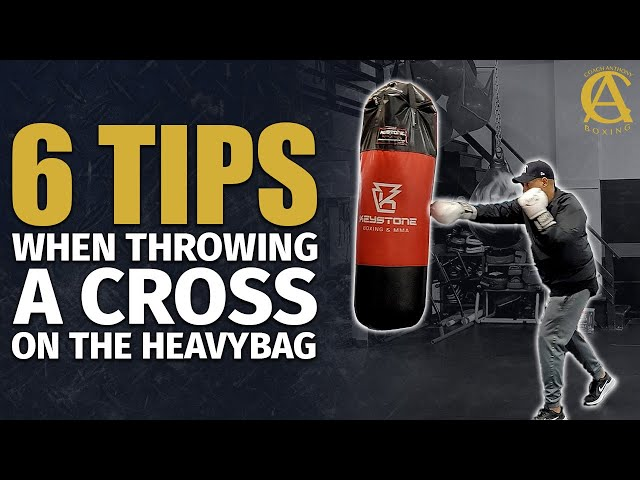 6 tips when throwing a Cross on the Heavy Bag [ Must Watch ]