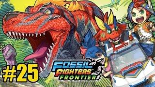 Fossil Fighters Frontier - 25 Combate contra el Terrorsaurus (3DS)