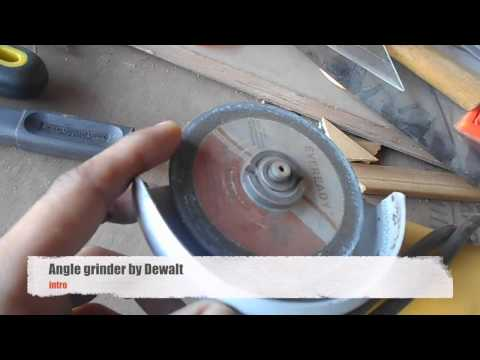 angle grinder intro - DIY woodworking India