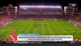 Video Gol Pertandingan Independiente vs Libertad