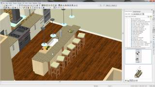 09 Cottage Beach House - Kitchen Island & Dining Table