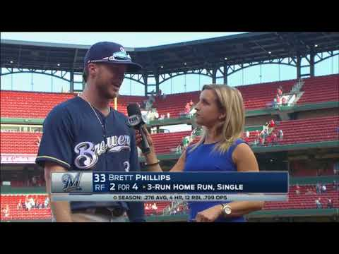 Rookie Brett Phillips says big things coming for Brewers next season
