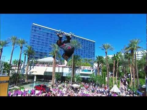 Dew Tour - Shaun White 2nd Place Run - Armadillo - Las Vegas Skateboard Vert Finals