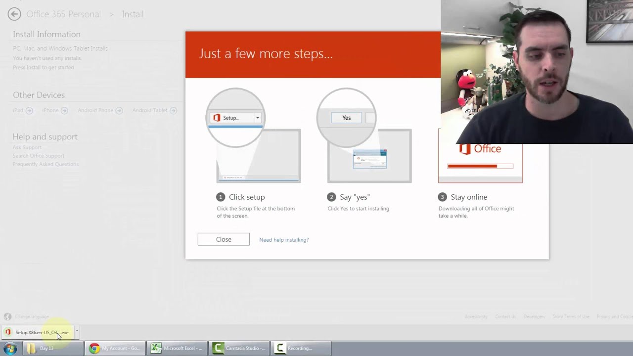 How to Transfer MS Office to a New Computer - YouTube
